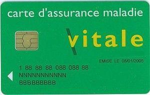 Declaration de perte ou de vol de votre carte vitale